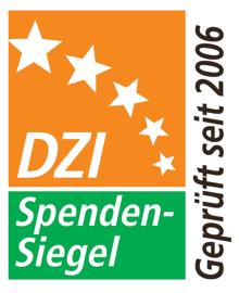 DZI Spendensiegel: Geprüft und empfohlen